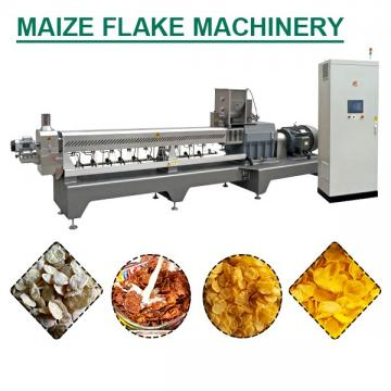 100kg/h Capacity Fully Automatic Corn Flakes Machine With Oatmeal As Main Materials