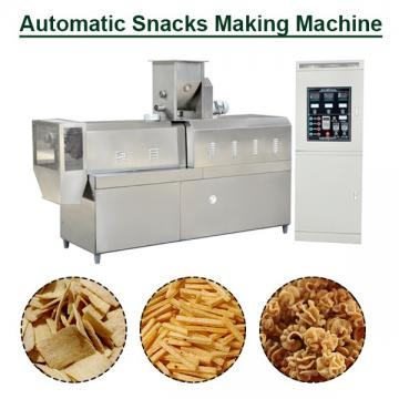 Hot Selling Small Capacity Snacks Making Machine With Flour As Main Materials