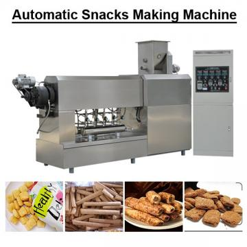 Automatic Instant Commercial Snack Food Making Machine With Automatic Discharging System