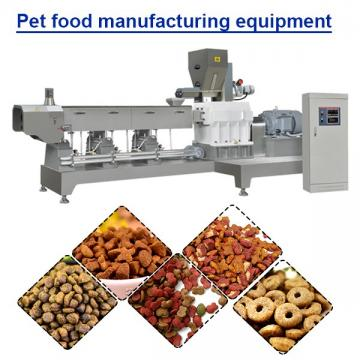 Small Scale Full Production Line Pet Food Production Line With Simplestructure