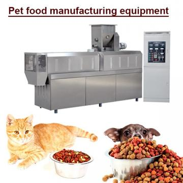 Free Spares 20 Years High Efficiency Pet Food Equipment With Scientific Design
