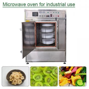 2020 New Tunnel Continuous Microwave Dryer With Easy Operation