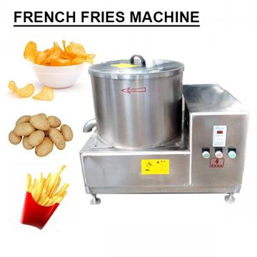 Stainless Steel High Capacity French Fry Maker With Full Automatic Temperature Control