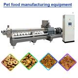 100kg/h Capacity Good Quality Pet Food Machine With Touch Screen To Control