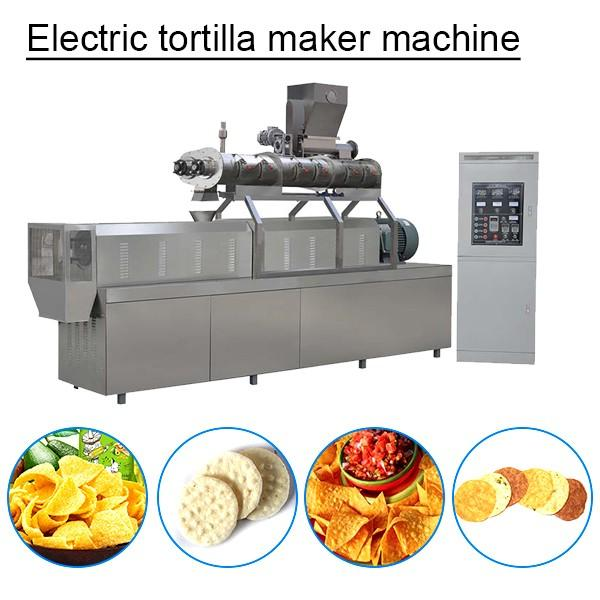 Portable Stainless Steel Tortilla Machine With Energy-saving #1 image